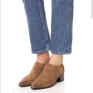 Frye Eleanor western shootie in chestnut